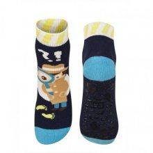 Soxo ABS 57227 ponožky 25-26 světle modrá