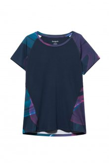 Desigual modré sportovní tričko Tee Tech Arty - M