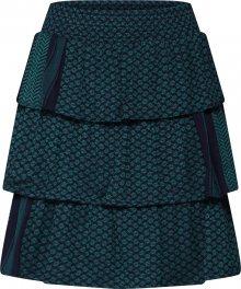 Cecilie Copenhagen Sukně \'Becky Skirt\' modrá / zelená