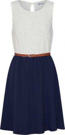 ABOUT YOU Šaty \'Danielle\' námořnická modř / bílá