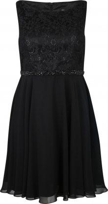 My Mascara Curves Koktejlové šaty \'BEADED LACE\' černá