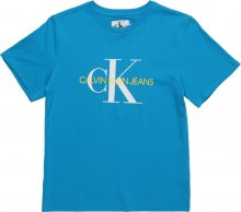 Calvin Klein Jeans Tričko \'MONOGRAM OCO TEE\' modrá