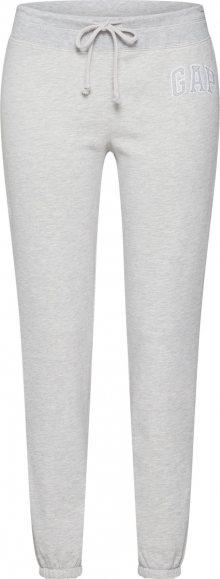 GAP Kalhoty světle šedá