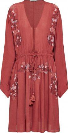 Farina Opoku Letní šaty \'SAHIRA\' vínově červená