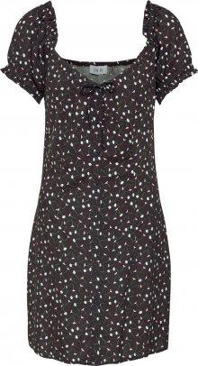EDITED Šaty \'Bryce\' růžová / černá / bílá