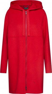 UNITED COLORS OF BENETTON Přechodný kabát červená