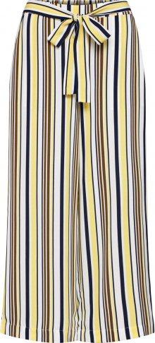VILA Kalhoty \'Mavia\' modrá / žlutá / bílá
