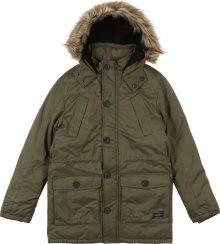 REVIEW FOR TEENS Zimní bunda \'TB-19-J900\' olivová