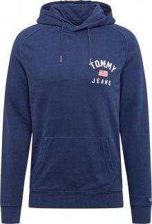 Tommy Jeans Mikina tmavě modrá