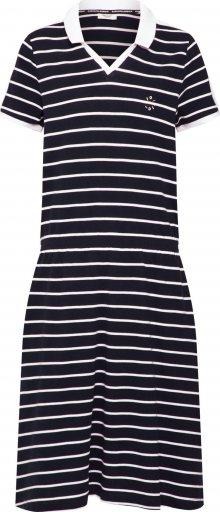 Marc O\'Polo DENIM Letní šaty černá / bílá