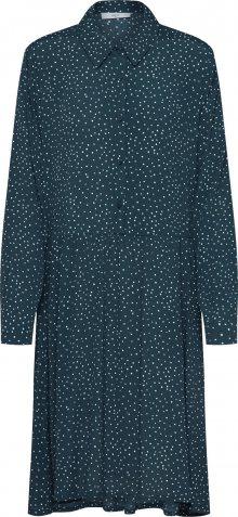 Minimum Košilové šaty \'Bindie 6436\' zelená / bílá