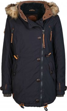 Naketano Zimní kabát tmavě modrá