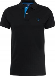 GANT Tričko \'Rugger\' královská modrá / černá