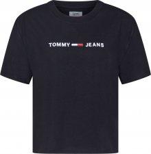 Tommy Jeans Tričko černá