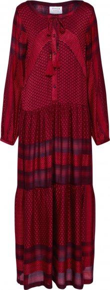 Cecilie Copenhagen Šaty \'Rebecca Dress\' červená / černá