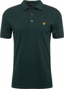 Lyle & Scott Tričko \'Plain Polo Shirt\' nefritová