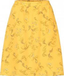VILA Sukně žlutá