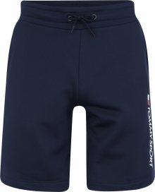 Tommy Sport Sportovní kalhoty marine modrá