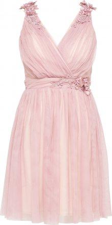 Little Mistress Koktejlové šaty \'Blush\' světle růžová
