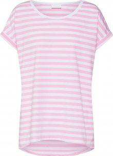 VILA Tričko \'Dreamers\' pink / bílá
