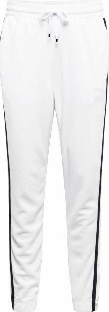 Nike Sportswear Kalhoty \'AIR\' černá / bílá