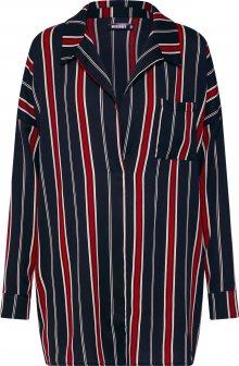 Missguided Oversized tričko červená / černá / bílá