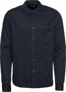 Nudie Jeans Co Košile \'Henry Pigment Dyed\' noční modrá