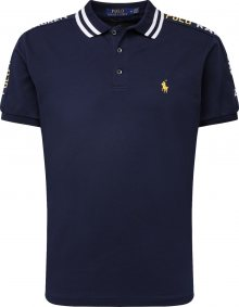 POLO RALPH LAUREN Tričko námořnická modř / žlutá / bílá