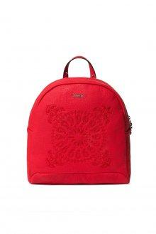 Desigual červený batoh Back Soft Bandana Venice Mini
