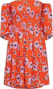 GLAMOROUS Letní šaty \'CK5089\' šeříková / červená