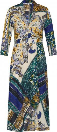 ABOUT YOU Letní šaty \'Carlotta\' modrá / zelená / mix barev