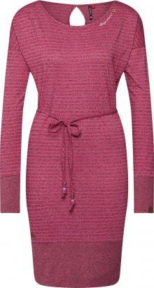 Ragwear Šaty \'SOHAM\' pink / vínově červená