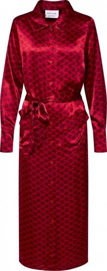 Cecilie Copenhagen Šaty \'Macy\' červená