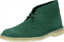 Clarks Originals Šněrovací boty \'DESERT BOOT\' tmavě zelená