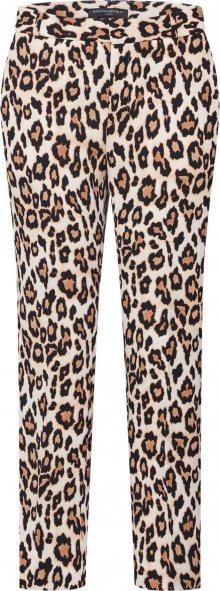 Banana Republic Kalhoty \'AVERY LEOPARD PRINT\' béžová / černá