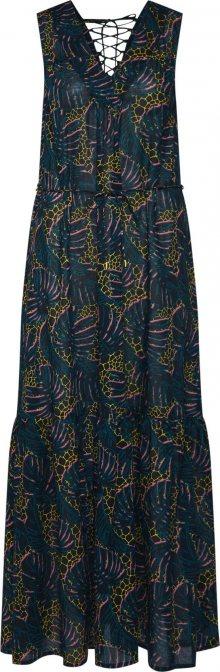 Q/S Designed By Letní šaty mix barev / černá