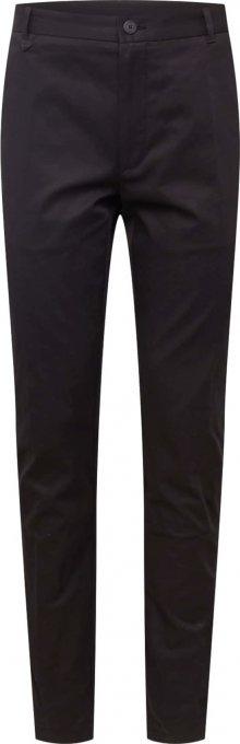HUGO Kalhoty s puky černá