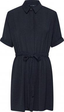 NEW LOOK Košilové šaty \'DSTRING WAIST SHIRT DRESS\' černá