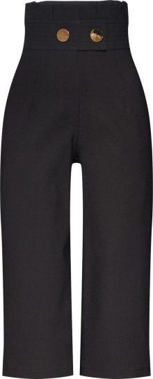 4th & Reckless Kalhoty \'PENNY CULOTTE\' černá