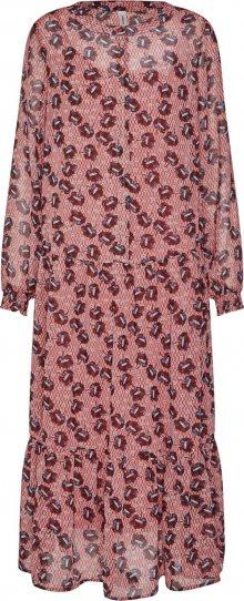 Soyaconcept Košilové šaty \'BLONDIE 3\' mix barev / růže