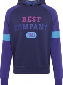 Best Company Mikina modrá / marine modrá / světlemodrá