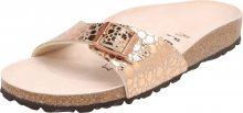 BIRKENSTOCK Pantofle \'Madrid\' růžově zlatá