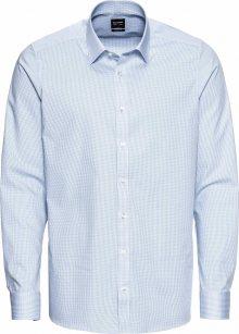 OLYMP Společenská košile \'Level 5 Vichykaro\' modrá / bílá