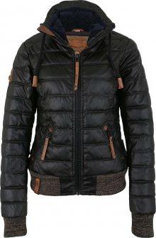 Naketano Zimní bunda černá