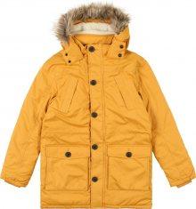 REVIEW FOR TEENS Zimní bunda \'TB-19-J900\' hořčicová