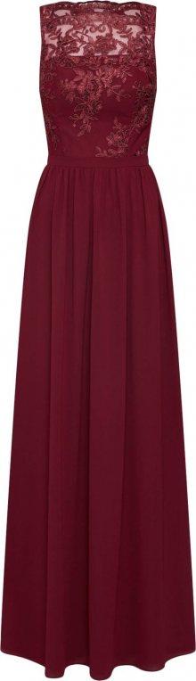 Chi Chi London Společenské šaty \'Tiffy\' bordó