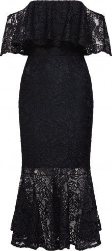 TFNC Koktejlové šaty \'VINNIE MIDI LACE DRESS\' černá