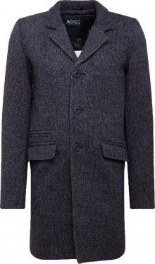 INDICODE JEANS Přechodný kabát \'Mathieu Solid\' černá