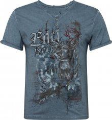 STOCKERPOINT Krojové tričko \'Edelbock\' kouřově modrá