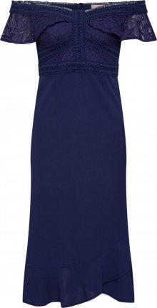 Love Triangle Koktejlové šaty \'Reign Supreme\' námořnická modř